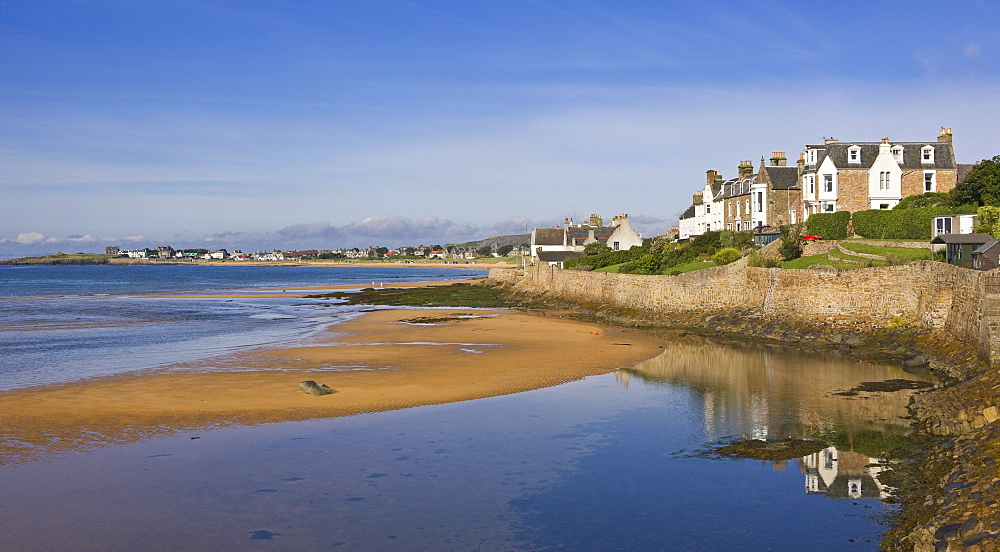 Homes Along The Shore, Elie, Fife, Scotland