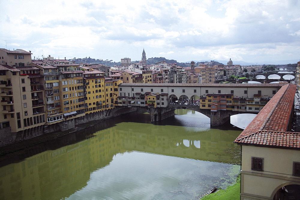 Florence, Italy; The Vasari Corridor