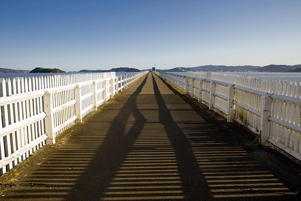 Wellington, New Zealand; Petone Wharf