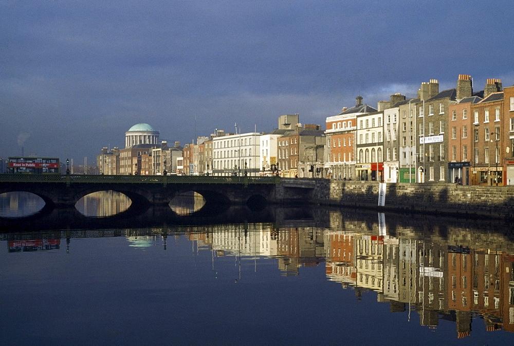 River Liffey; Dublin city, county Dublin, Ireland