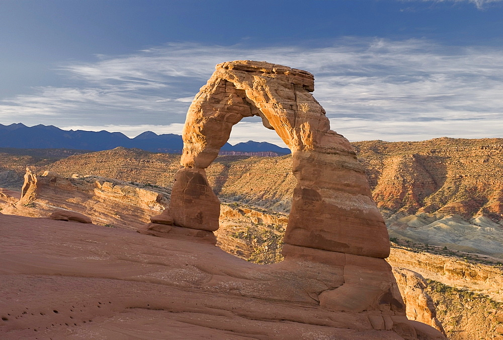 Moab, Utah, United States Of America; Delicate Arch In Arches National Park