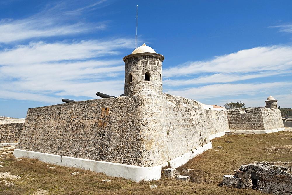 Castillo De San Salvador De La Punta; Havana, Cuba