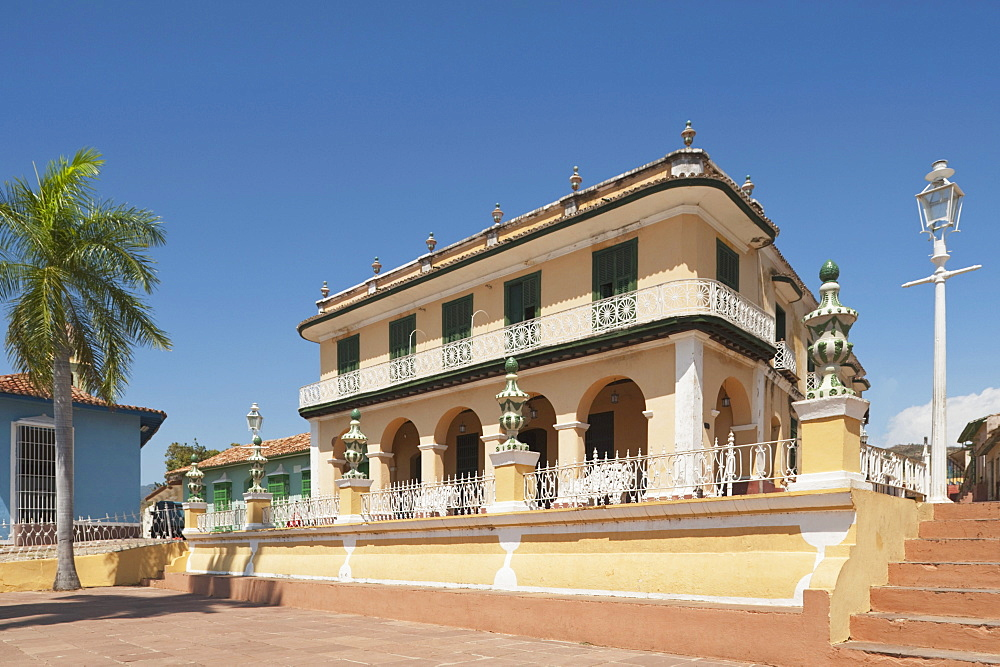 Palacio Brunet, Now The Museo Romantico; Trinidad, Cuba