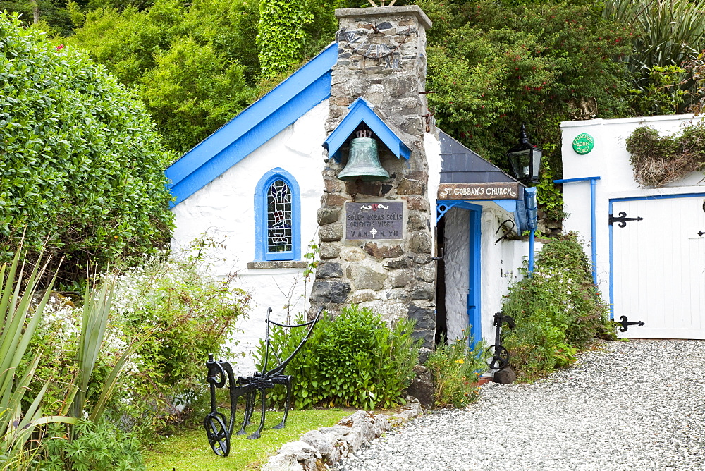 St. Gobban'S Is The Smallest Church In Ireland; Portbraddon, County Antrim, Northern Ireland