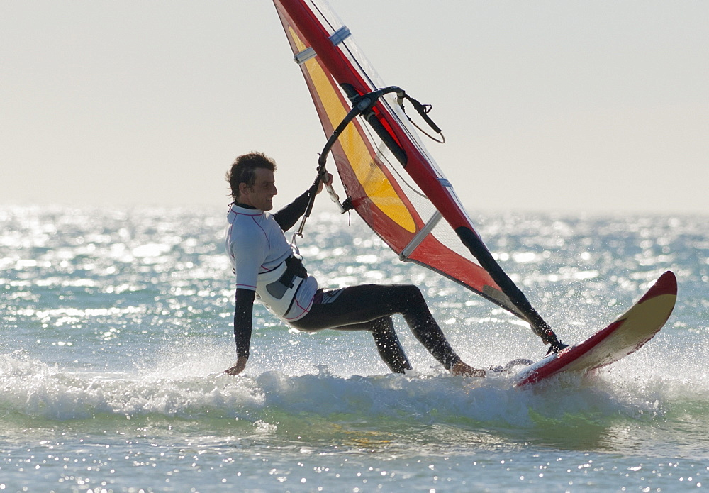 Windsurfing; Los Lances Beach Tarifa Spain
