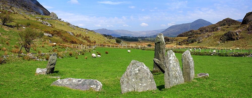 Lauragh, Ring Of Beara. County Kerry, Ireland, Stone Circle