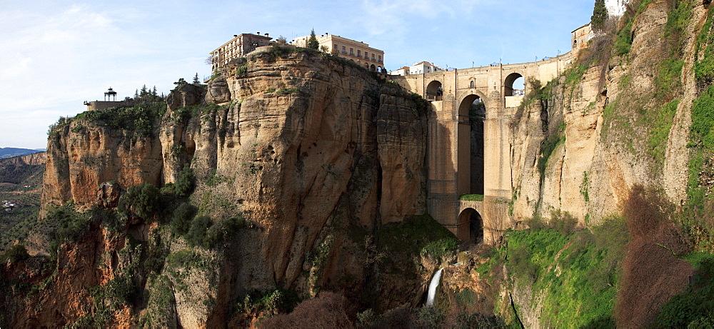 Ronda, Malaga, Andalusia, Spain; The Bridge Of Ronda