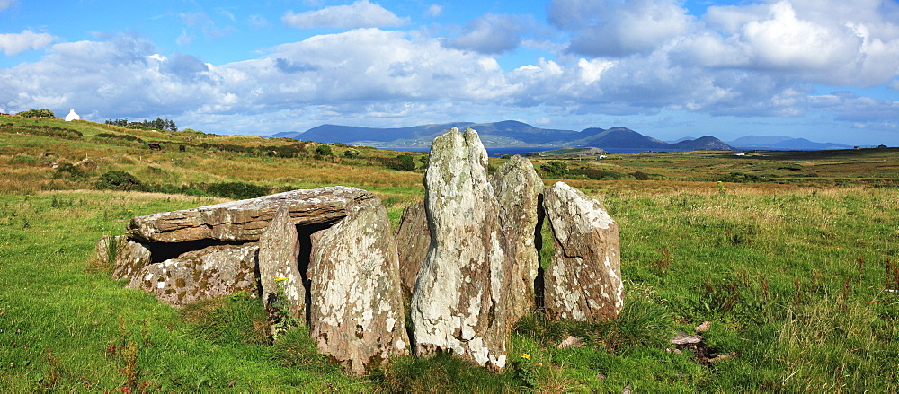 Ancient Dolmen Ruins; Ballinskelligs, County Kerry, Ireland