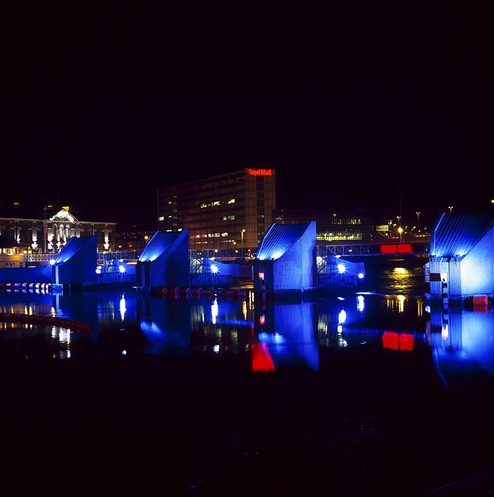 Belfast, Lagan Weir, Ireland