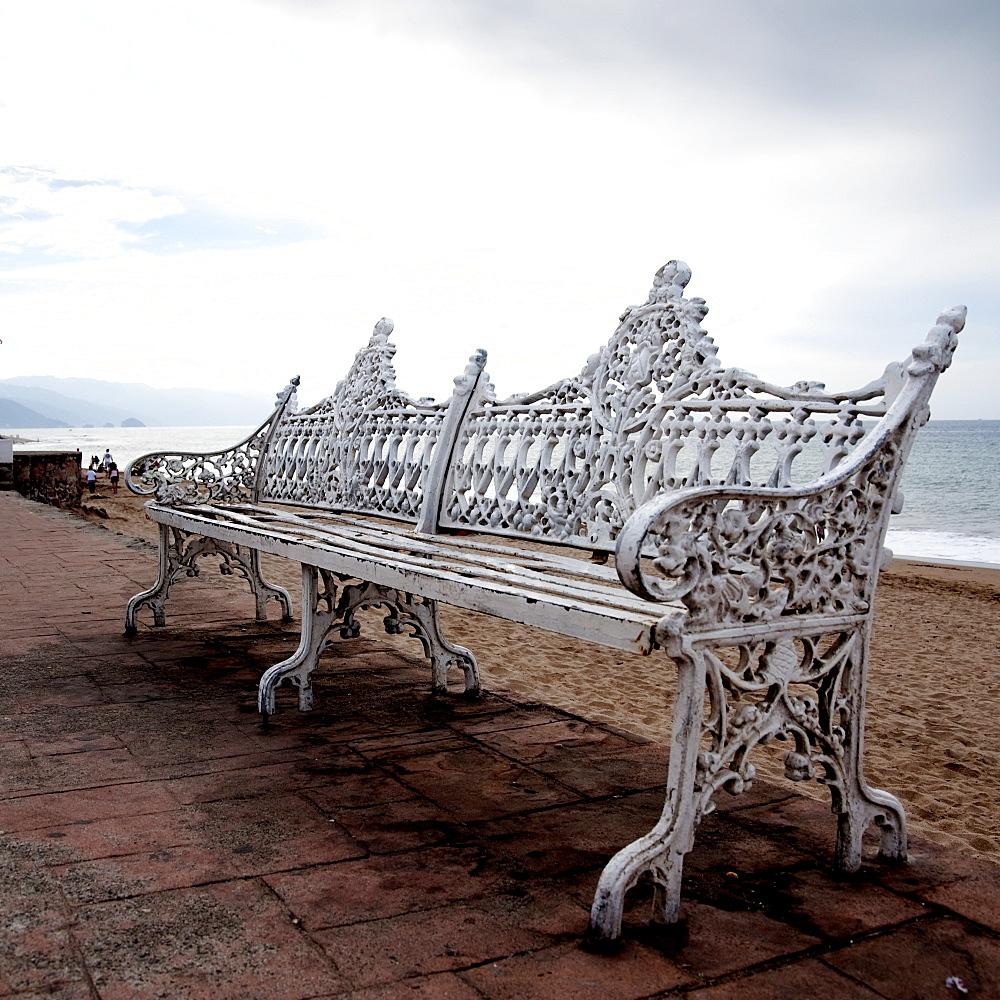 Puerto Vallarta, Mexico, Ornate Bench