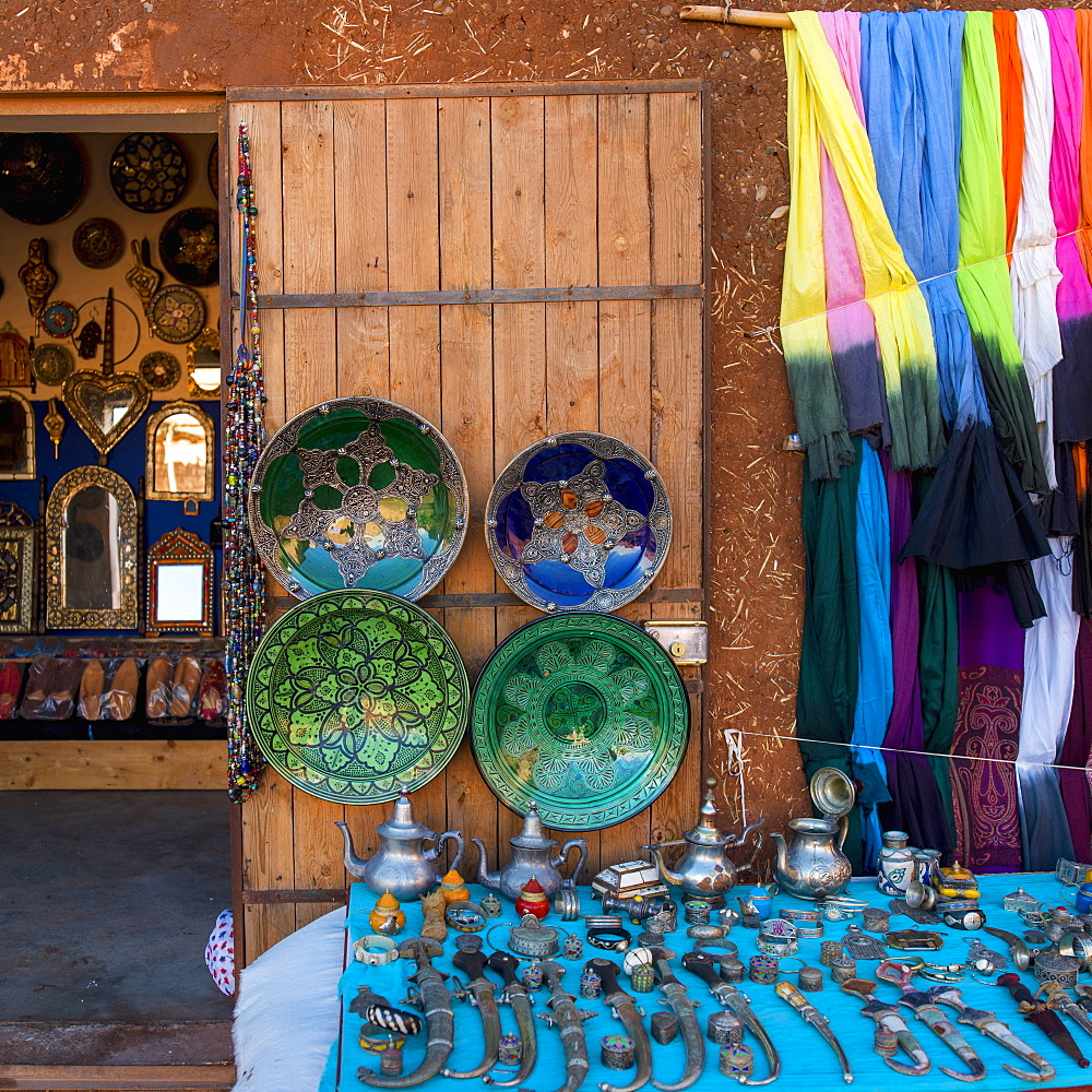 Souvenirs on display