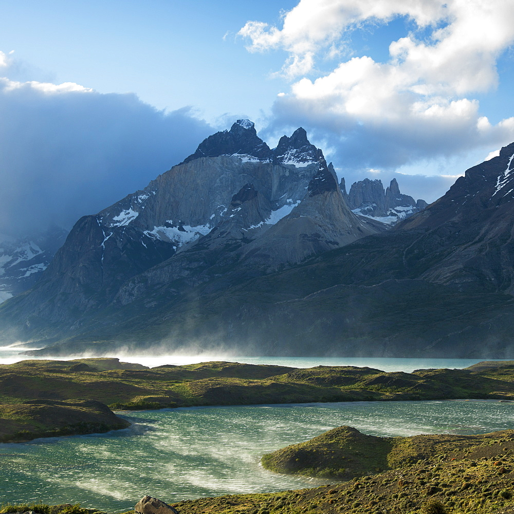 Nordenskjold Lake, Torres Del Paine National Park, Torres Del Paine, Magallanes And Antartica Chilena Region, Chile