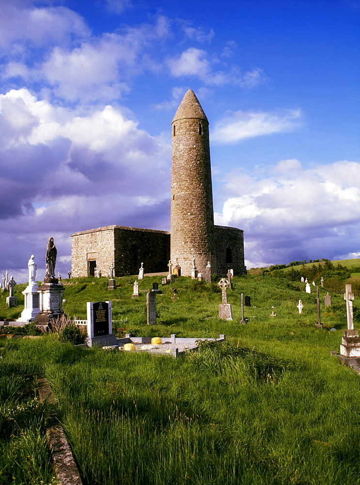 Round Tower At Turlough, Co Mayo, Ireland