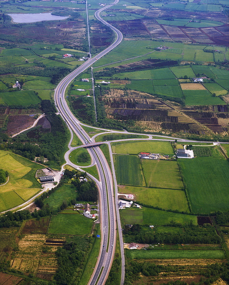 County Armagh, Ireland, M1 Motorway Near Lurgan