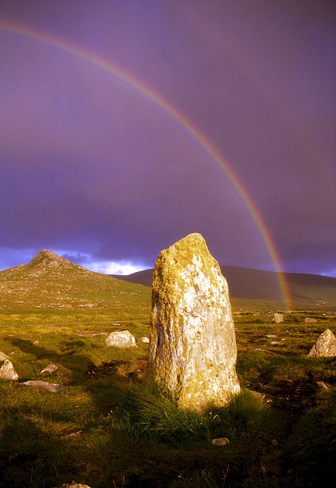 Clogher, County Kerry, Ireland, Standing Stone