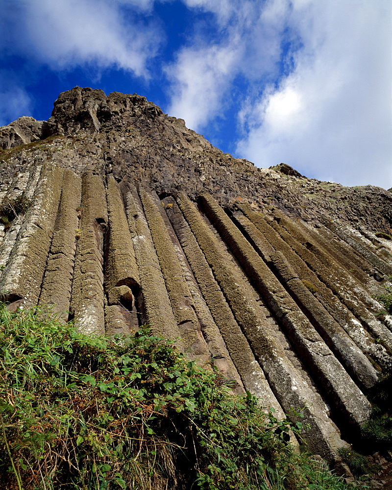 The Organ, Giant's Causeway, County Antrim, Ireland