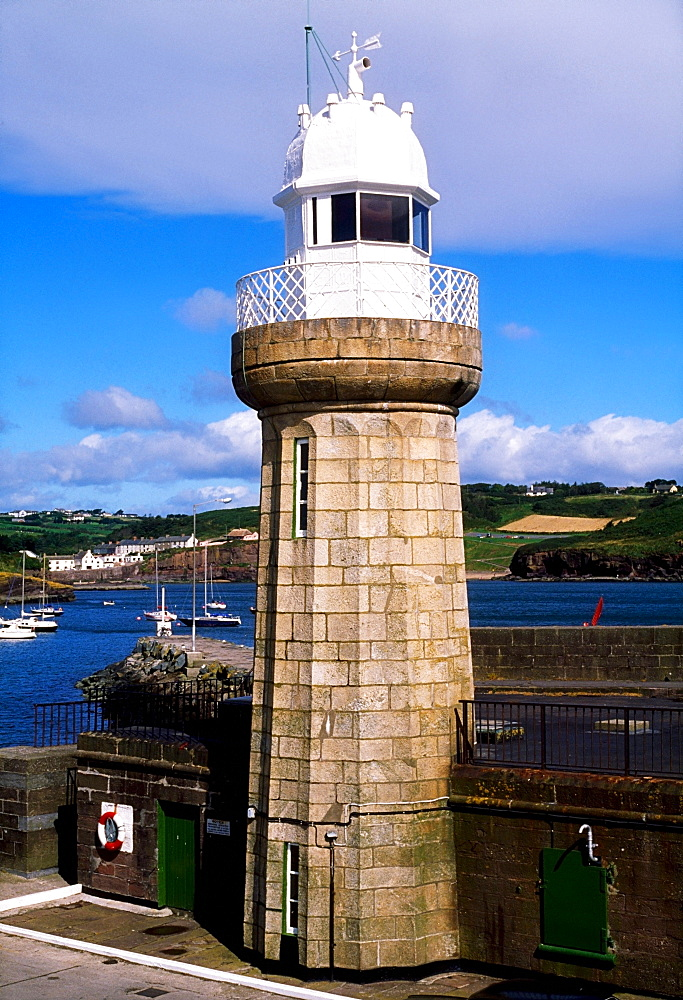 19Th Century Lighthouse, Dunmore East; Dunmore East, Co Waterford, Ireland
