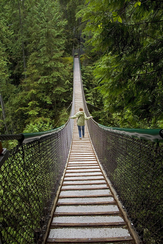 Lynn Canyon Suspension Bridge North Vancouver British Columbia Canada