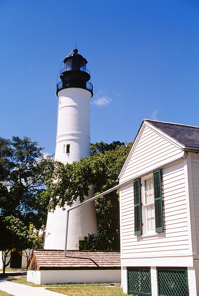 Lighthouse, Key West, Florida, Usa