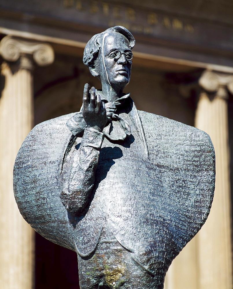 Sculpture Of Yeats, Sligo, County Sligo, Ireland