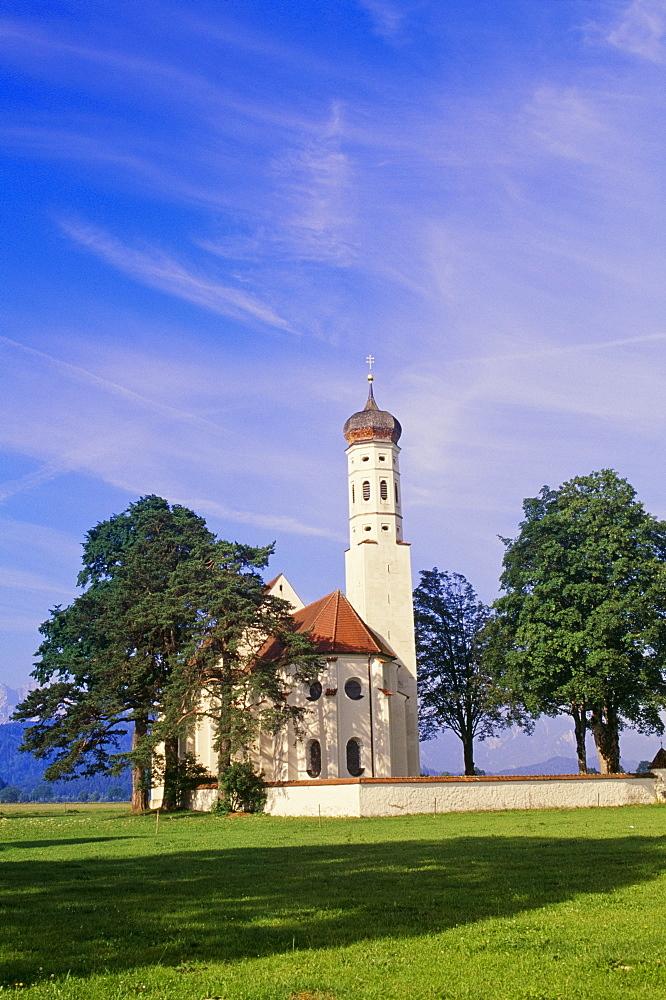 Bavarian Church, Fussen, Bavaria, Germany