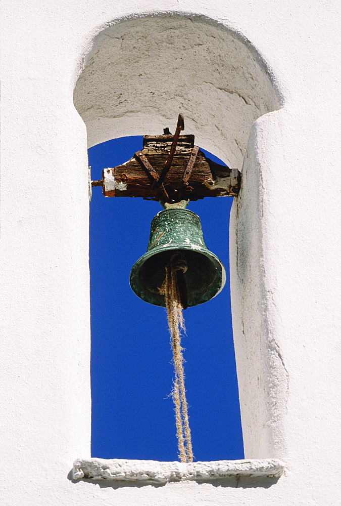 Church Bell, Mykonos, Cyclades Islands