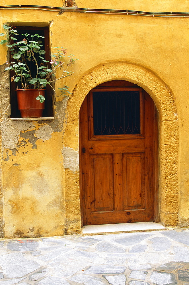 Doorway In Hania, Crete, Greece
