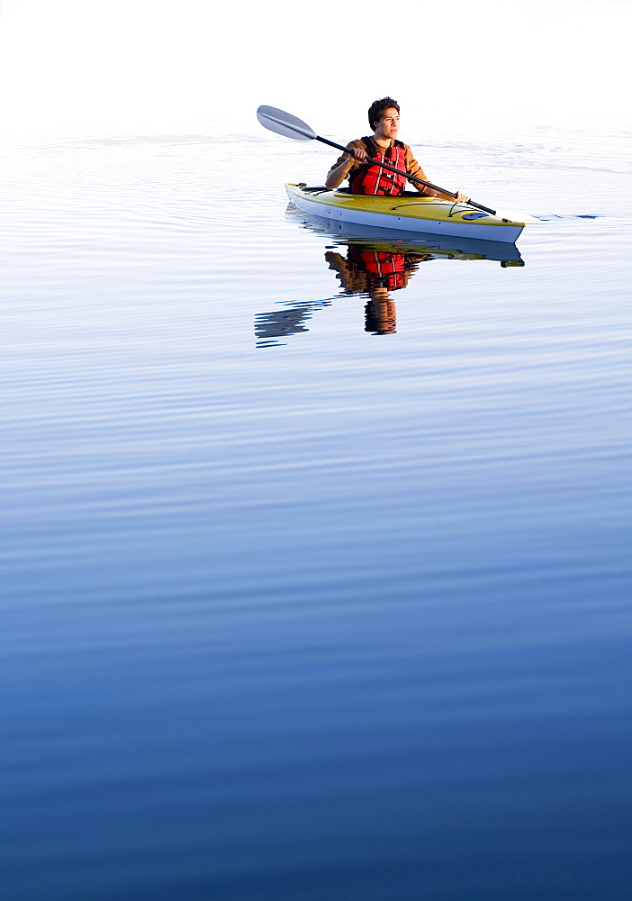 Man In A Kayak