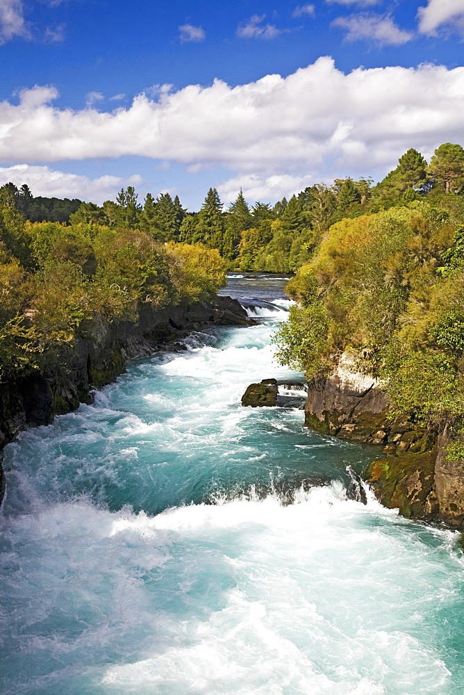 Waikato River, Taupo, New Zealand