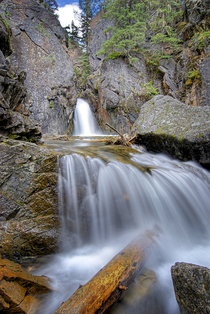 A Waterfall In Kananaskis
