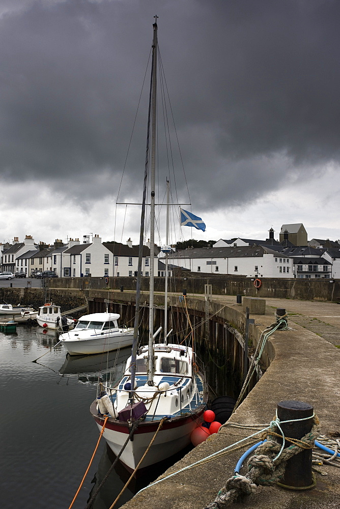 Boats Moored, Islay, Scotland