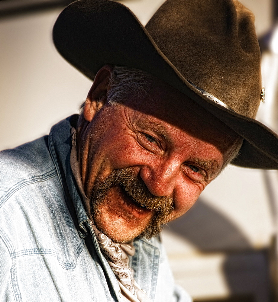 Portrait Of Cowboy