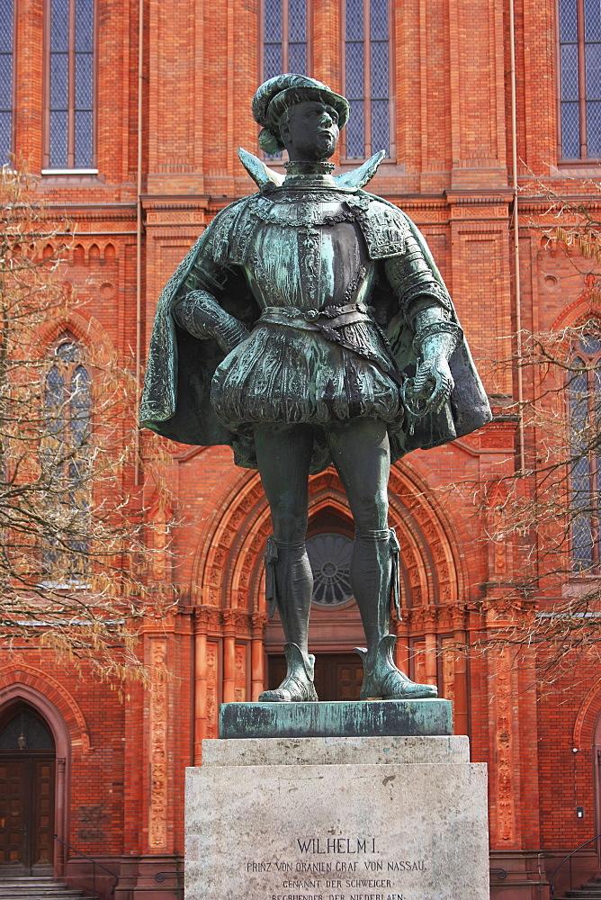 Statue Of Wilhelm I, Wiesbaden, Hessen, Germany