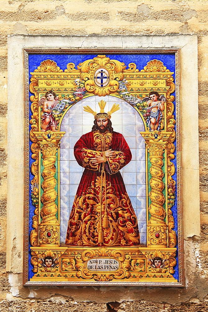 Religious Artwork, Cadiz, Andalucia, Spain
