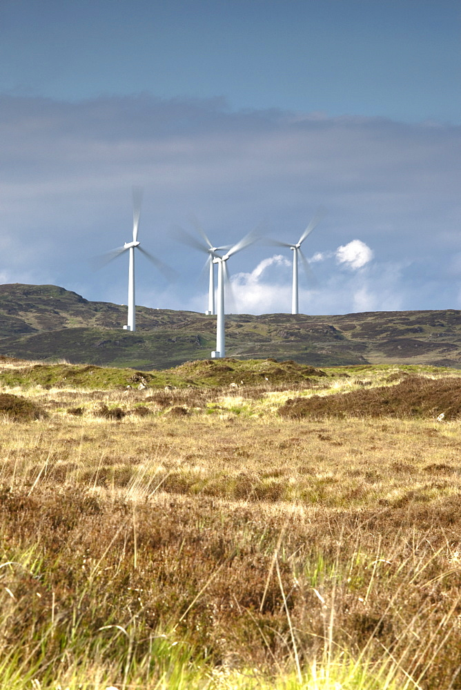 Wind Farm, Dumfries And Galloway, Scotland