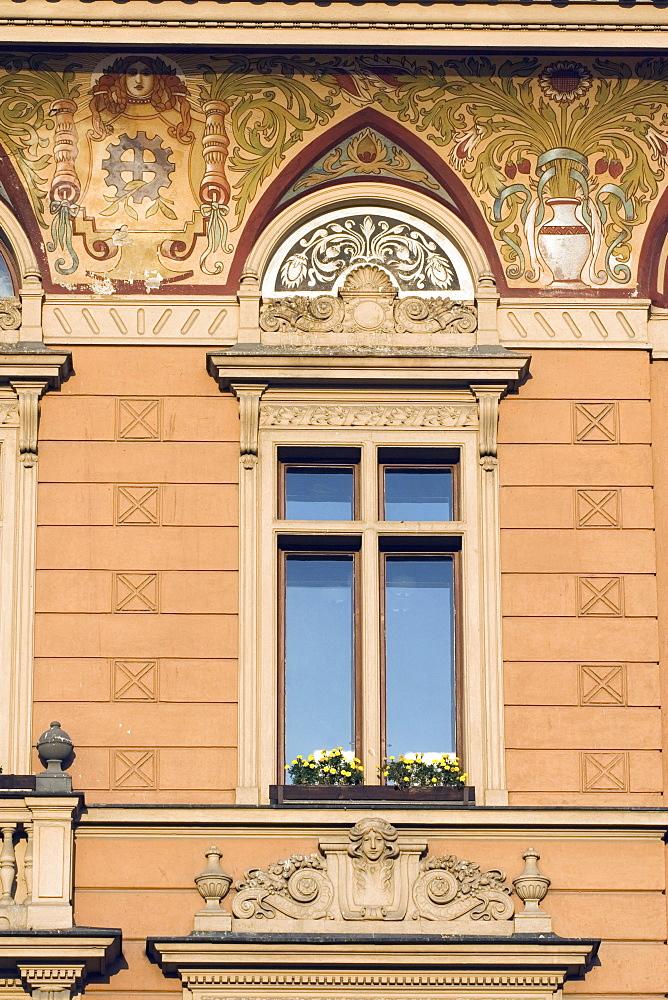 Decorative Window On Building