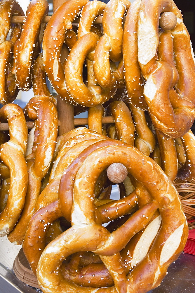 Pretzels On A Rack