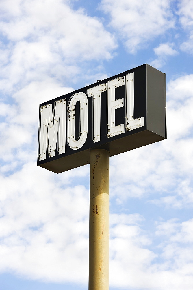 Motel sign, Saskatchewan canada