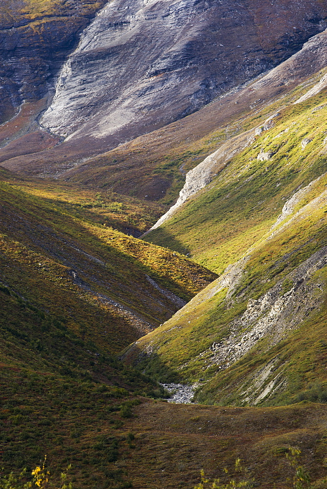 Brooks Range, Gates Of The Arctic National Park, Northwestern Alaska, Alaska, United States Of America
