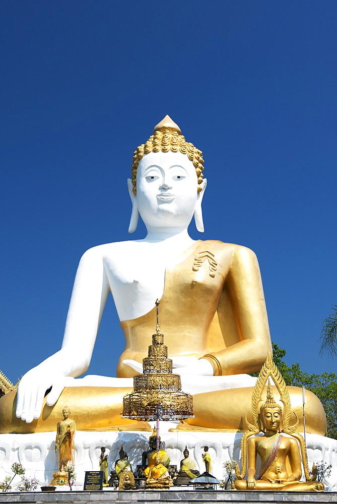 Wat Doi Kham Temple Buddha, Chiang Mai, Thailand