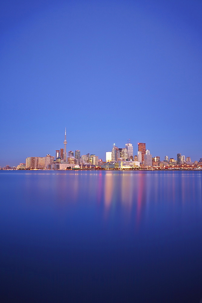 Skyline Of Toronto And Lake Ontario, Toronto, Ontario, Canada