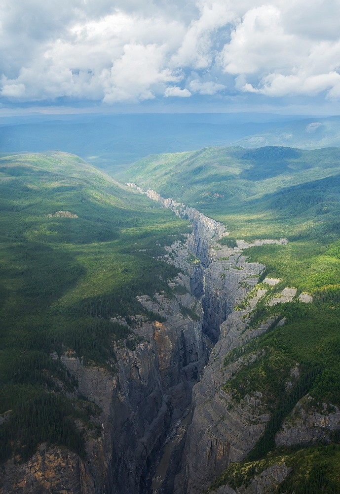 Scimitar Canyon, Nahanni National Park, Northwest Territories, Canada