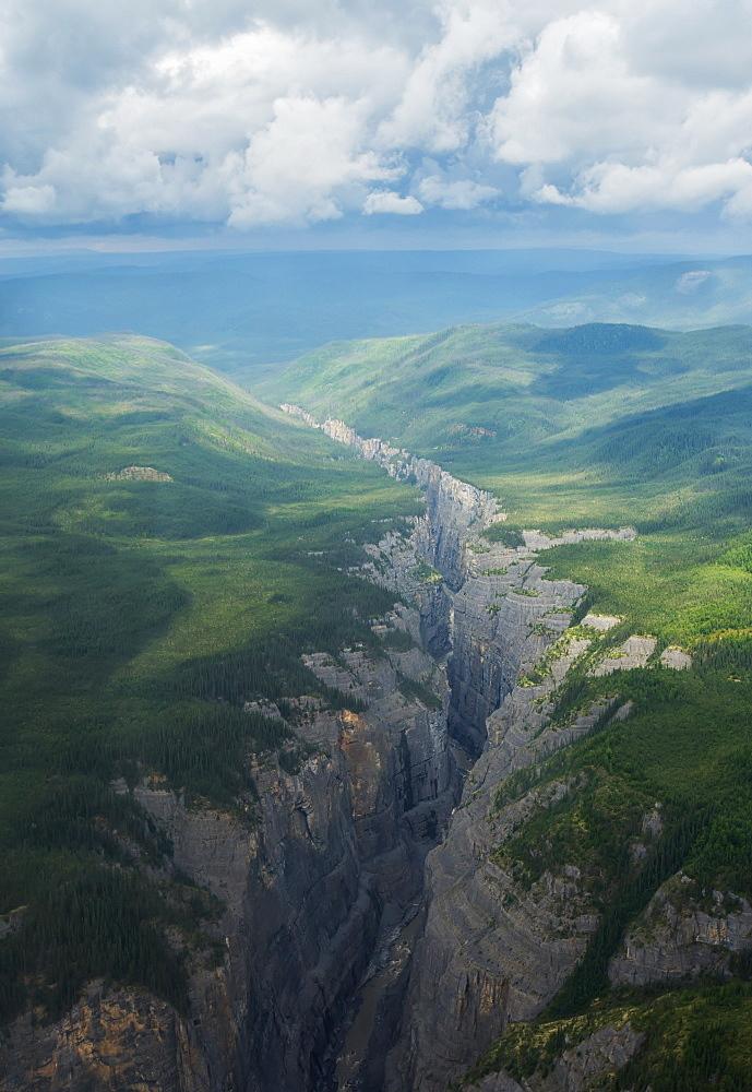 Scimitar Canyon, Nahanni National Park, Northwest Territories, Canada - 1116-42583