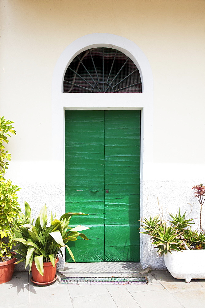 A Quaint Green Door, Riomaggiore, Liguria, Italy