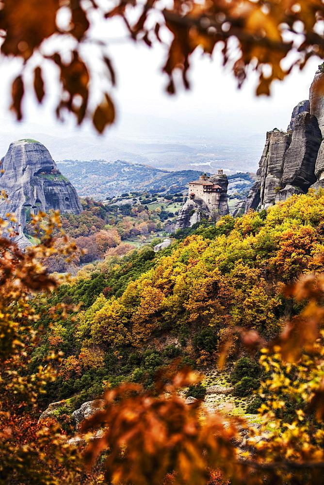 Holy Monastery Of St. Nicholas Anapausas, Meteora, Greece