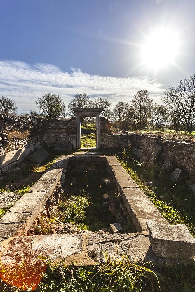 Basilica B Ruins, Philippi, Greece