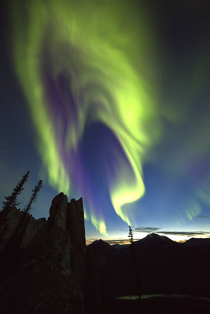 Northern Lights (Aurora Borealis), Yukon, Canada