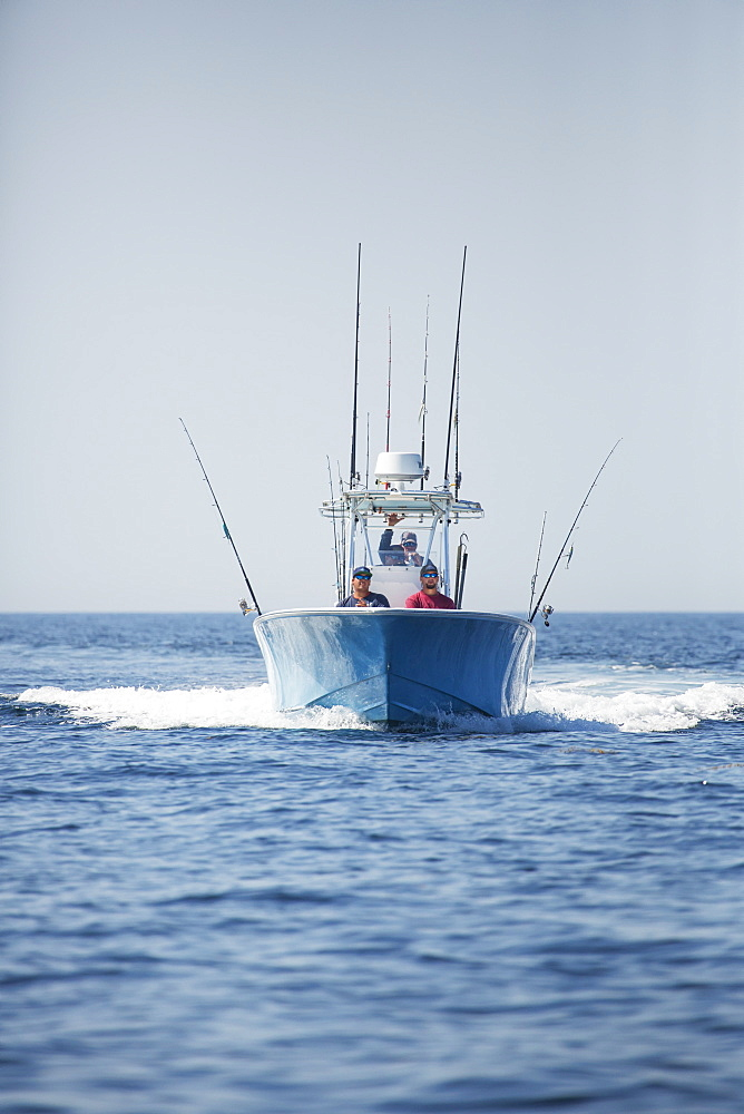 Day On The Water Fishing For Blue Fin Tuna, Cape Cod, Massachusetts, United States Of America