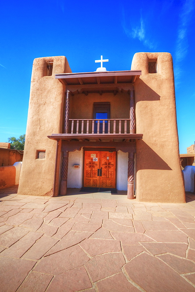San Geronimo Chapel, Taos Pueblo, Dates To 1000 Ad, New Mexico, United States Of America