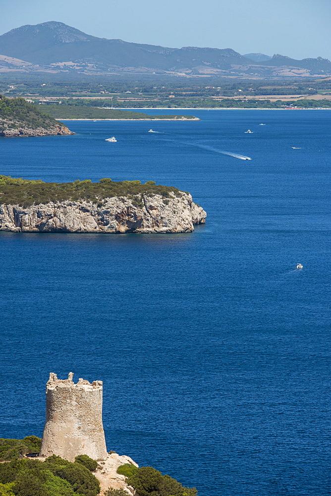 View Of Capo Caccia, Capo Caccia, Sardinia, Italy